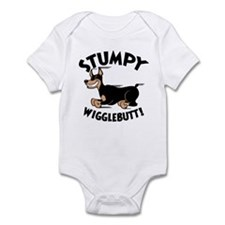 Stumpy Wigglebutt! Infant Bodysuit