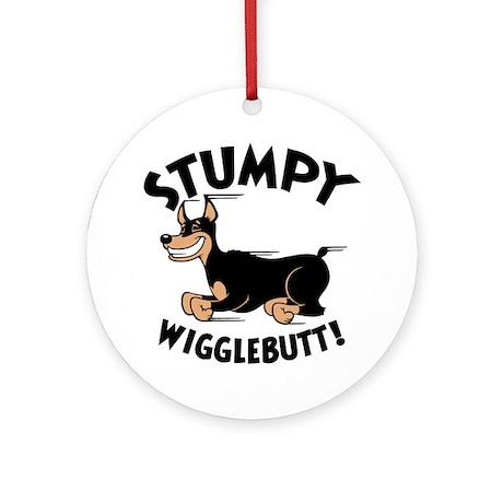 Stumpy Wigglebutt! Ornament (Round)