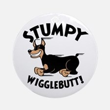 Stumpy Wigglebutt! Ornament (Round)