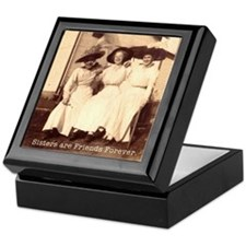 Sisters are Friends Forever Keepsake Box