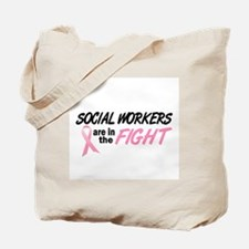 Social Workers In The Fight Tote Bag