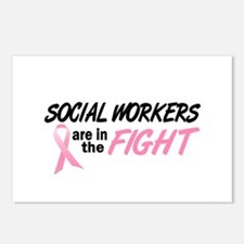 Social Workers In The Fight Postcards (Package of