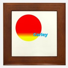 Carley Framed Tile