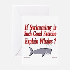 Explain Whales ? Greeting Card