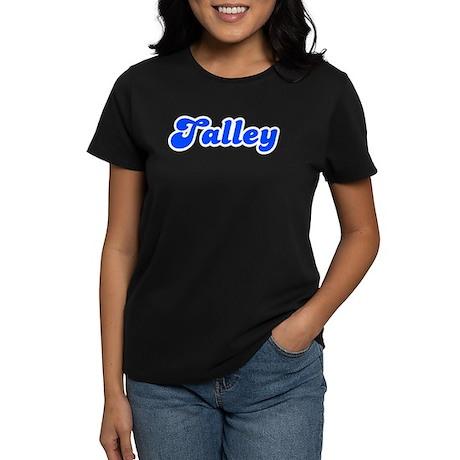 Retro Talley (Blue) Women's Dark T-Shirt