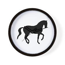 Piaffe Horse Wall Clock