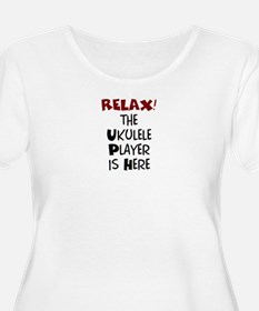 ukulele playe T-Shirt
