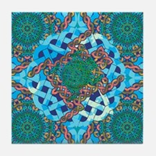 Celtic Turtle Tile Coaster