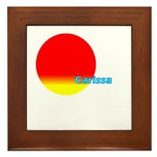 Carissa Framed Tile