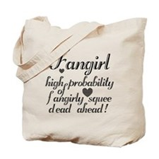 Fangirly Squee Tote Bag