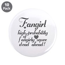 """Fangirly Squee 3.5"""" Button (10 pack)"""