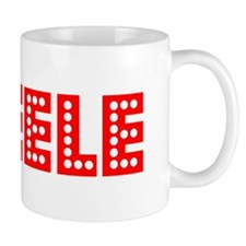 Retro Steele (Red) Mug