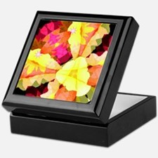Bright Flowers Keepsake Box