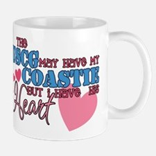 Unique Proud coast guard mom Mug