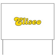 Retro Eliseo (Gold) Yard Sign