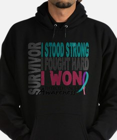 Survivor 4 Thyroid Cancer Shirts and Gift Sweatshi
