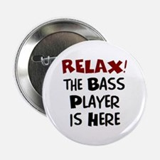 "bass player here 2.25"" Button"