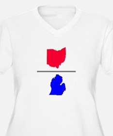 Ohio over Michigan T-Shirt
