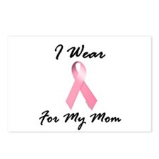 I Wear Pink For My Mom 1.2 Postcards (Package of 8