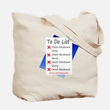 Don't Bug Me & To-Do List Blueboarder Tote Bag