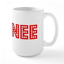 Retro Sydnee (Red) Mug