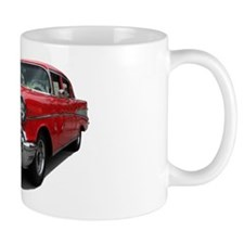 Helaine's 55ish Red Car Mug