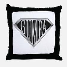 Super Gumpa - Metal Throw Pillow