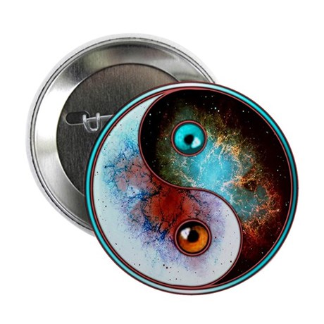 "Cosmic Tao 2.25"" Button (100 pack)"
