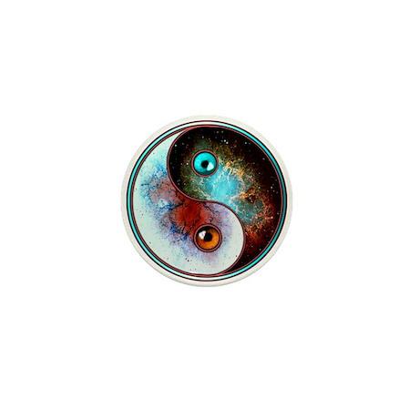 Cosmic Tao Mini Button (10 pack)
