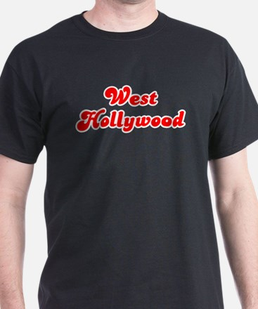 Retro West Hollywood (Red) T-Shirt