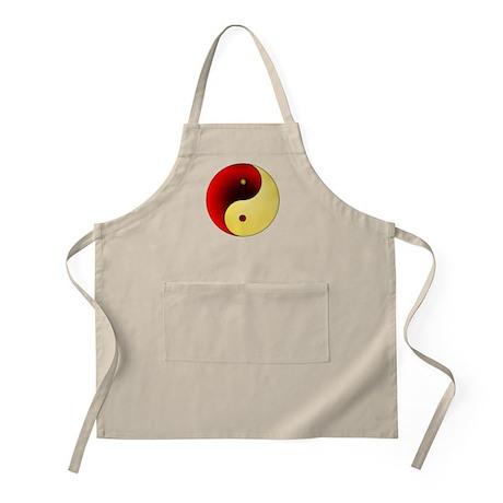 Yin-Yang (red/gold) BBQ Apron