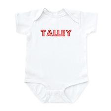Retro Talley (Red) Infant Bodysuit