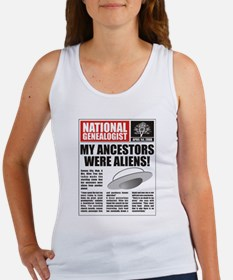 Ancestors Were Aliens Women's Tank Top