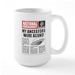Ancestors Were Aliens Large Mug