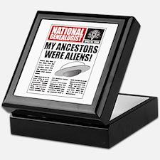 Ancestors Were Aliens Keepsake Box