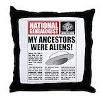 Ancestors Were Aliens Throw Pillow