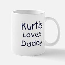 Kurtis loves daddy Mug