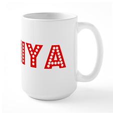 Retro Taniya (Red) Mug