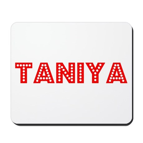 Retro Taniya (Red) Mousepad