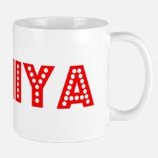 Retro Taniya (Red) Mug