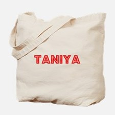 Retro Taniya (Red) Tote Bag