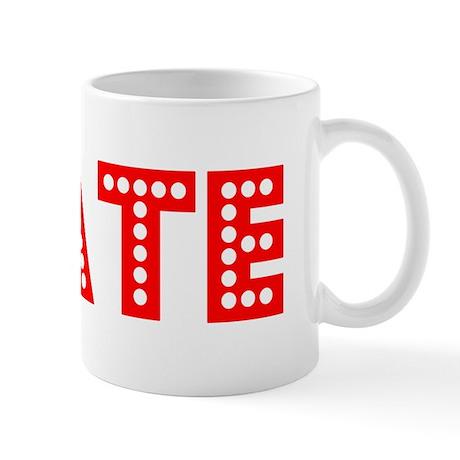 Retro Tate (Red) Mug