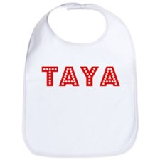 Retro Taya (Red) Bib