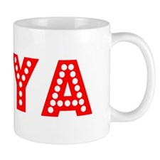 Retro Taya (Red) Mug