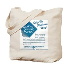 Railway Express Tote Bag
