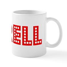 Retro Terell (Red) Mug
