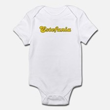 Retro Estefania (Gold) Infant Bodysuit