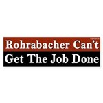 Dana Rohrabacher Can't Get the Job Done