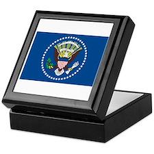 PRESIDENTAL-SEAL FLAG Tile Box