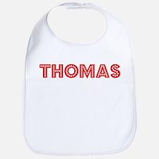 Retro Thomas (Red) Bib